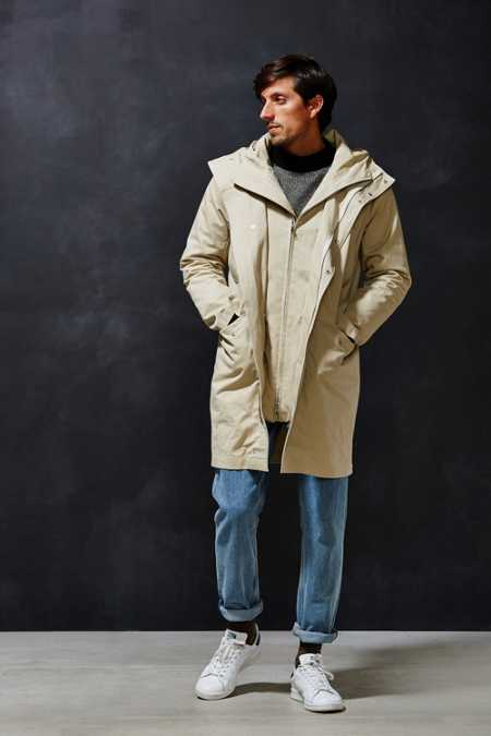 Shades Of Grey By Micah Cohen Parka Jacket
