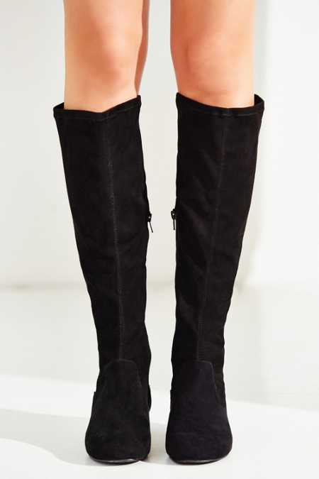 Suede High Boot
