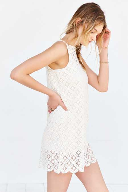 BB Dakota Mark Lace Shift Dress