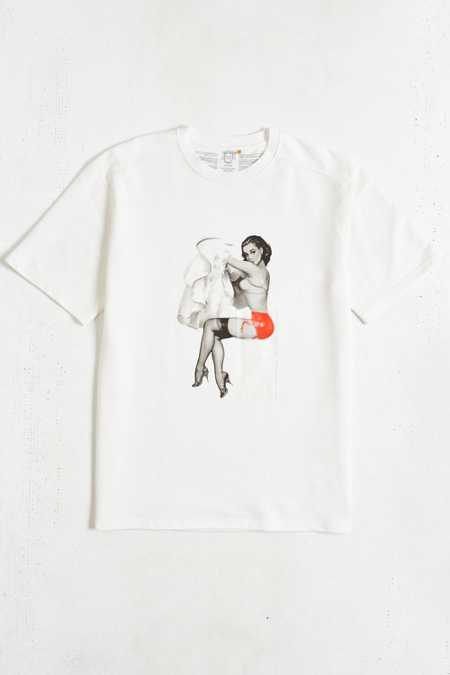 Tee Library Pin-Up Girl See Through Tee