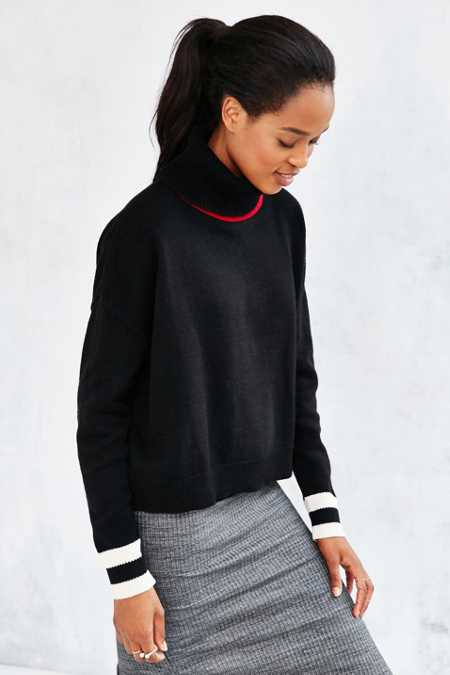 BDG Varsity Turtleneck