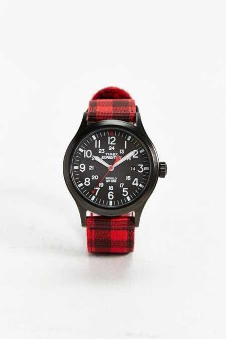 Timex Expedition Plaid Scout Watch