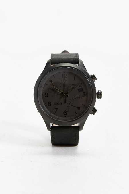 Timex Intelligent Quartz Fly-Back Chrono Watch