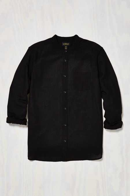 CPO Stevens Band Collar Button-Down Shirt