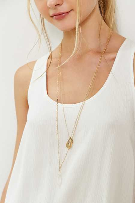 KC Crystal Layering Necklace Set