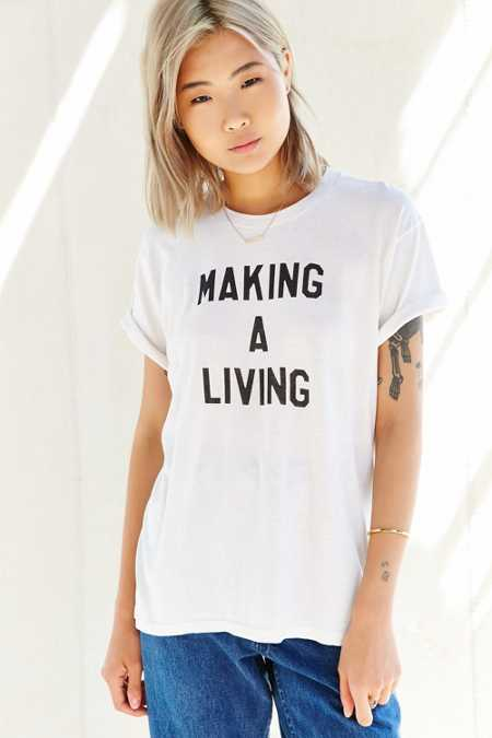 Urban Renewal Recycled Making A Living Vintage Tee