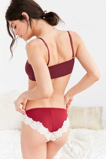 Avery Colorblock Lace Cheeky Hipster
