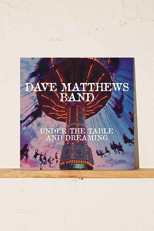 Dave Matthews Band - Under The Table And Dreaming LP,BLACK,ONE SIZE