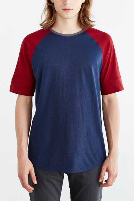 Feathers Suva Colorblock Raglan Tee
