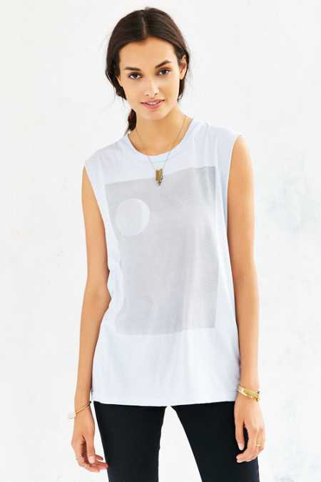 Truly Madly Deeply Moonshawdow Muscle Tee