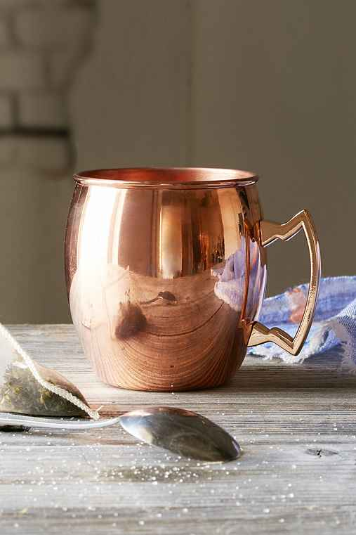 16 Oz Mule Mug,COPPER,ONE SIZE