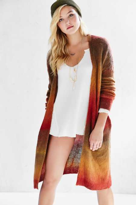 Ecote Autumn Brushed Cardigan