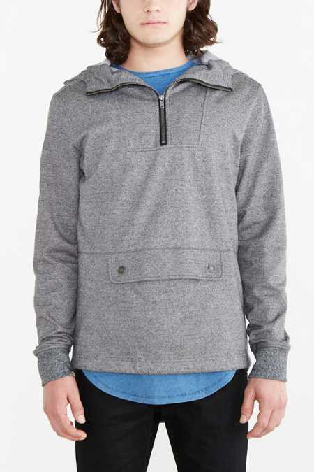 Knit Fishtail Anorak Sweatshirt