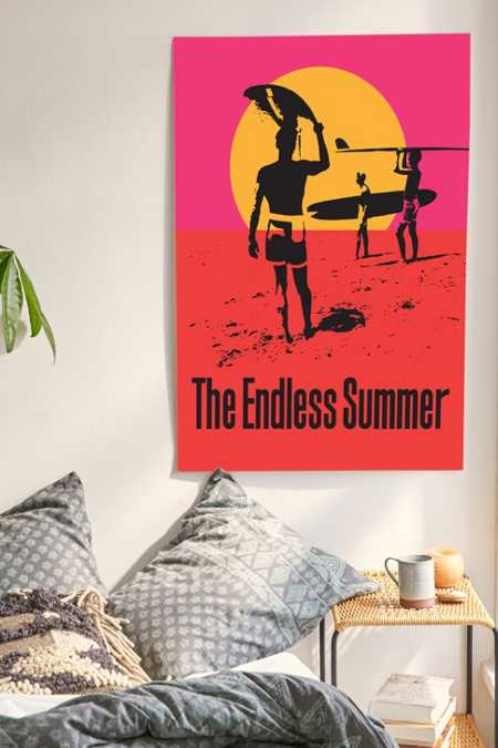 Bruce Brown Films Endless Summer 50th Anniversary Edition Poster