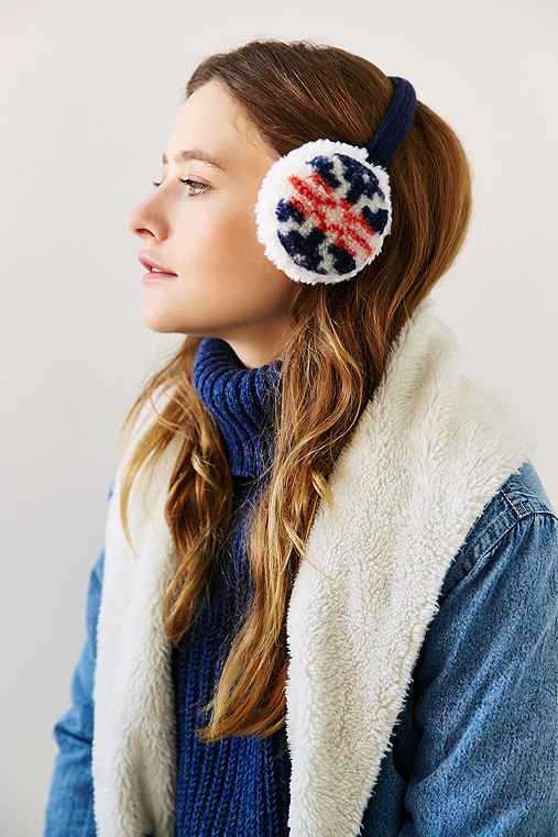 Camp Sherpa Ear Muff,BLUE MULTI,ONE SIZE