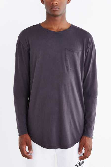 Feathers Pigment Dye Long-Sleeve Tee