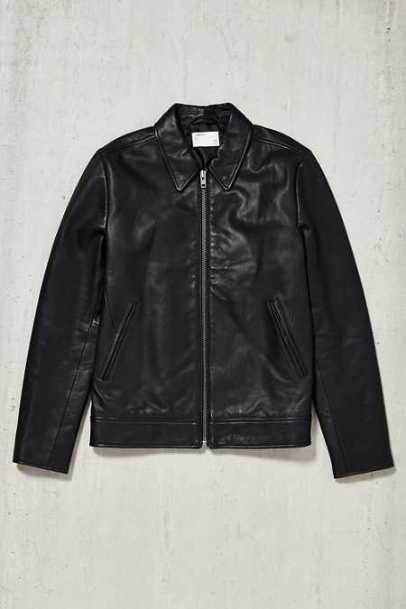 Your Neighbors Leather Flight Jacket