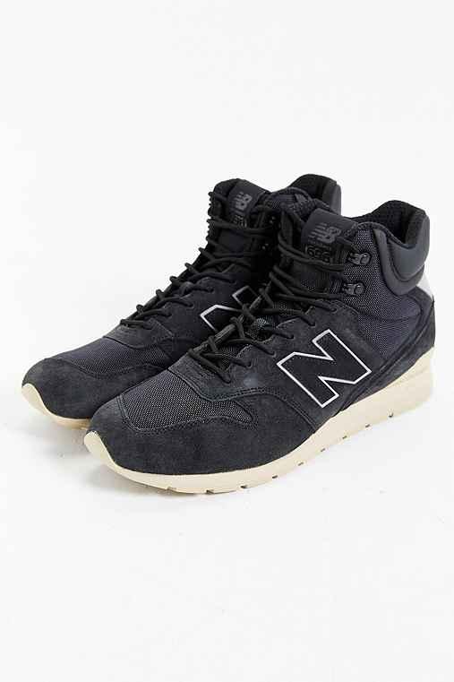 New Balance 696 Outdoor Sneakerboot,BLACK,12