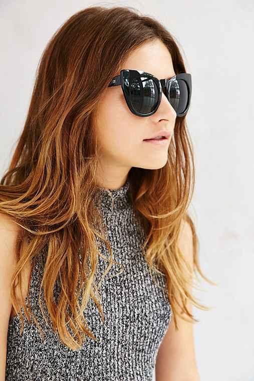 Quay Cha Cha Sunglasses,BLACK,ONE SIZE