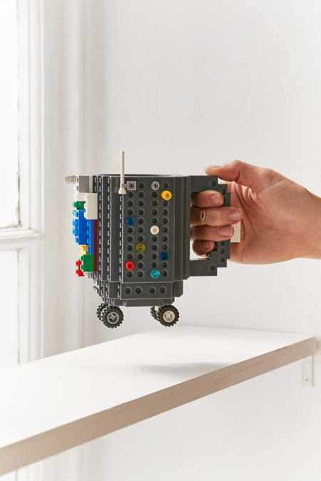 ThinkGeek Build-On Brick Mug