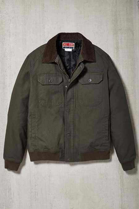 All-Son Waxed Canvas Ranger Jacket
