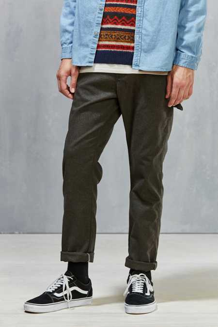UO X Dickies Slim Straight Herringbone Carpenter Pant