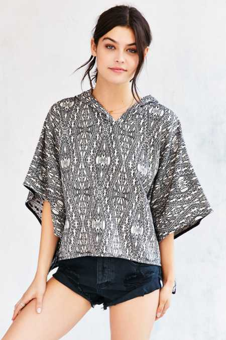 Ecote Beach Hooded Poncho