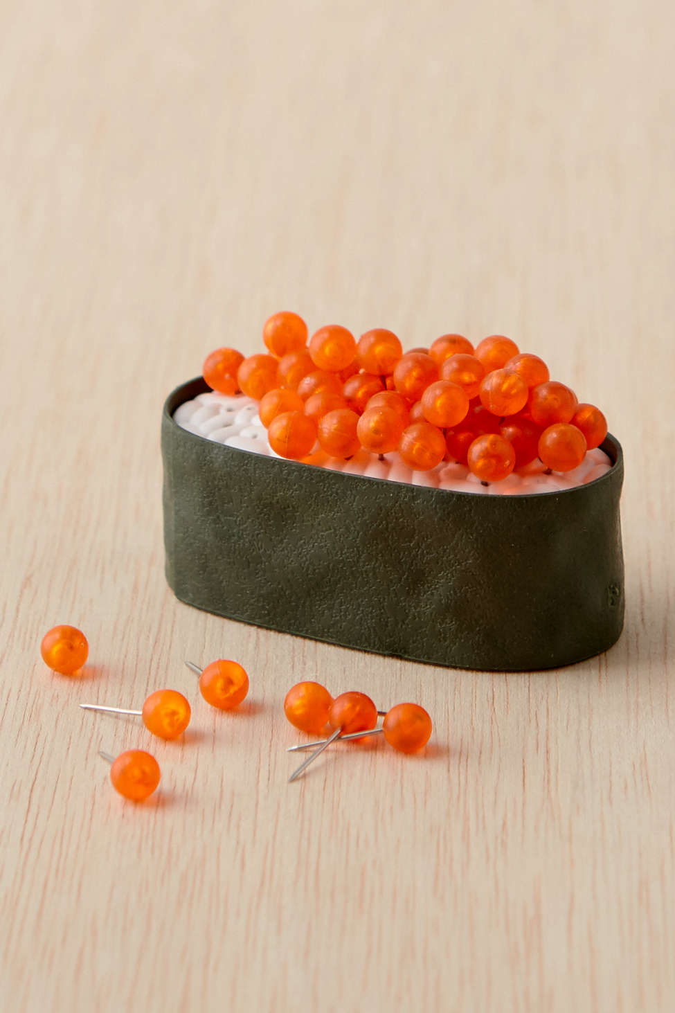 Sushi inspired push pin set