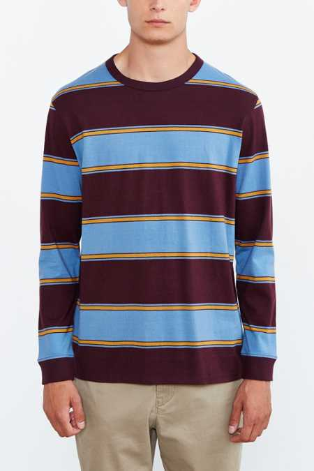 BDG '80s Stripe Long-Sleeve Tee