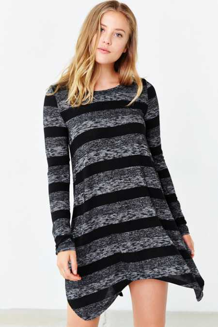BDG Cozy Shark Bite Tee Dress