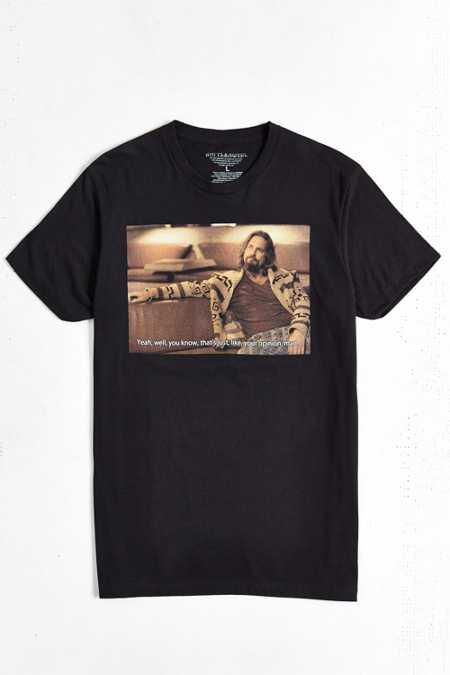 Big Lebowski Opinion Tee
