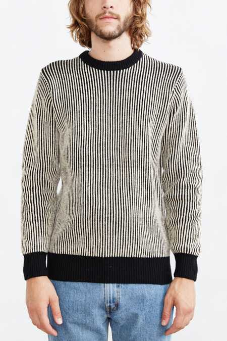 OBEY Striped Sweater