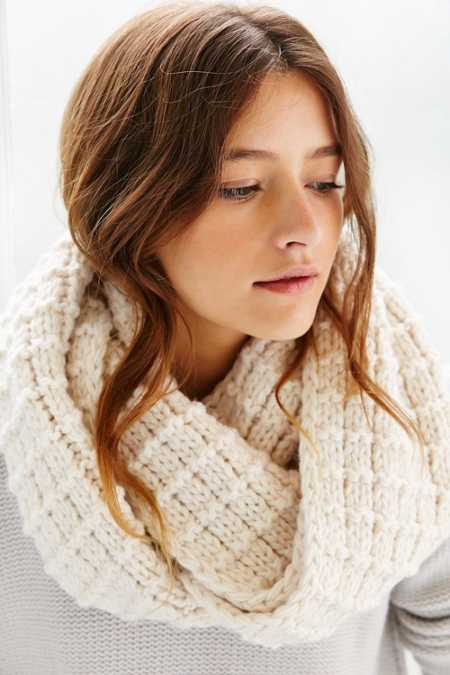 Boyfriend Knit Eternity Scarf