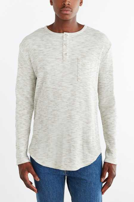 Feathers Thermal Henley Tee