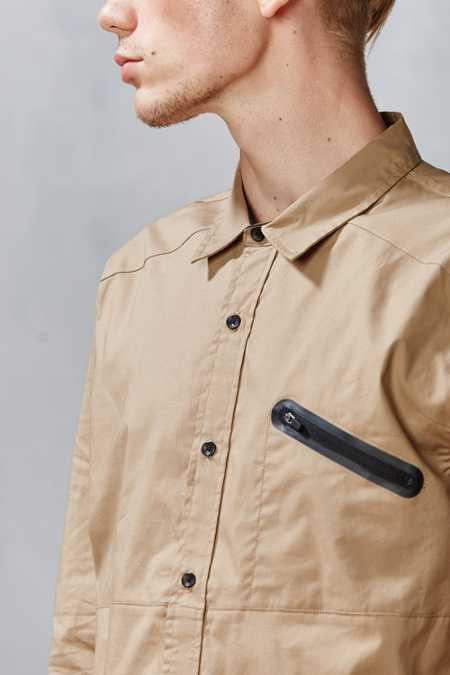 ourCaste Moose Button-Down Overshirt