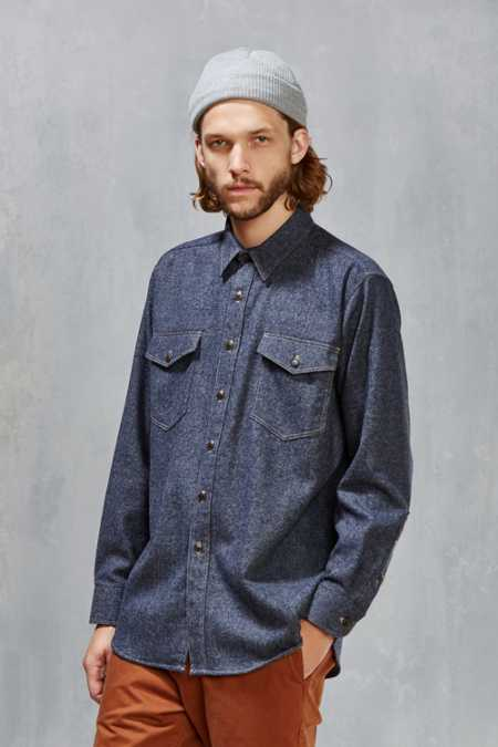 Pendleton Wool Denim Shirt
