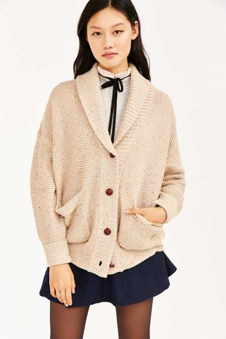 BDG Bridgette Shawl Collar Cardigan