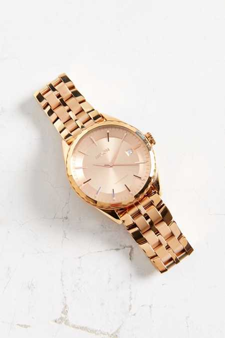 Nixon Minx Rose Gold Watch