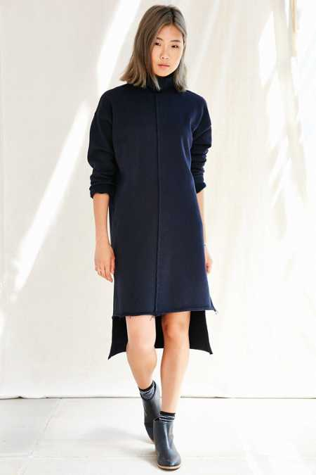 Urban Renewal Remade High Neck Modern Dress