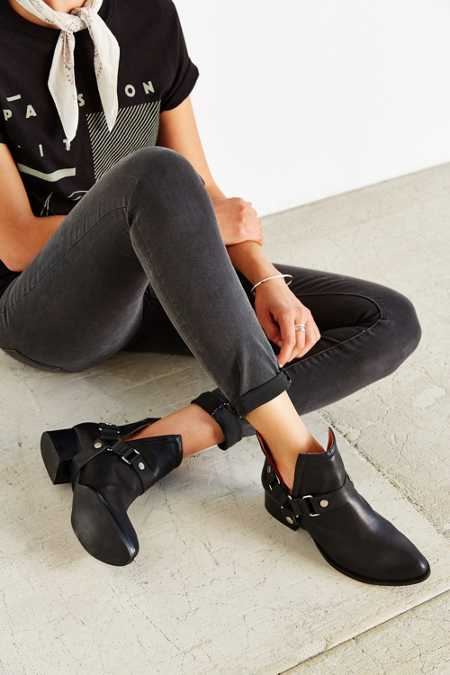 Jeffrey Campbell Musk-Harness Ankle Boot