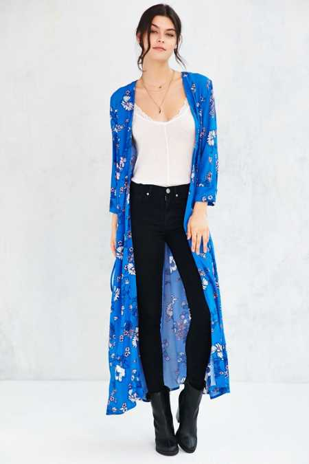 MINKPINK Bliss In Bloom Duster Jacket