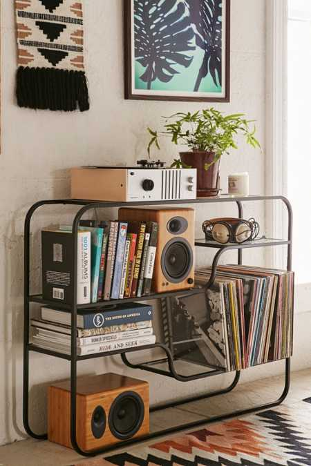 vinyl record storage urban outfitters. Black Bedroom Furniture Sets. Home Design Ideas
