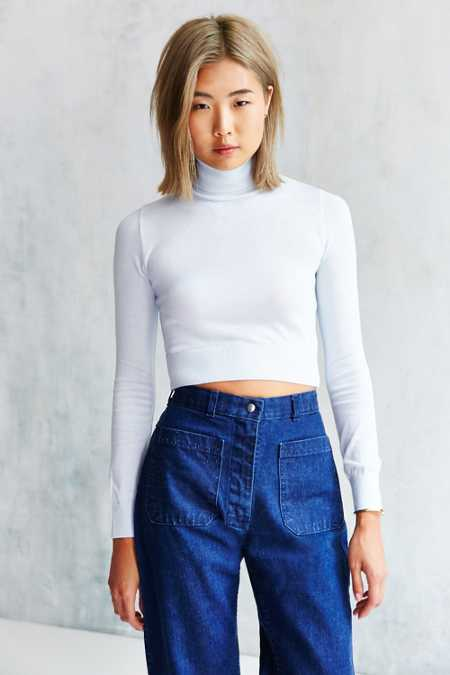 Cooperative Fine-Gauge Turtleneck Sweater