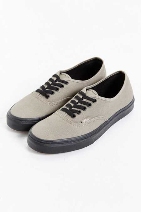 Vans Black Sole Authentic Sneaker