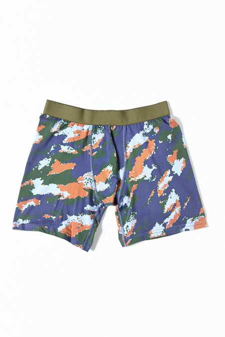 Camo Print Boxer Brief