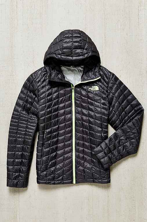 The North Face Thermoball Hoodie Jacket,GREY,S