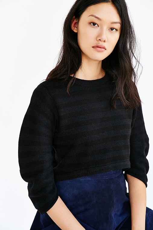 Alice & UO David Sweater,BLACK & WHITE,M