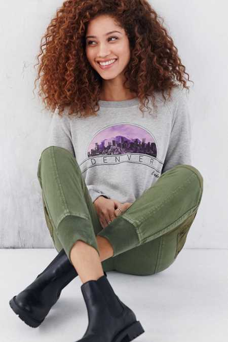 Project Social T Favorite Cities Sweatshirt