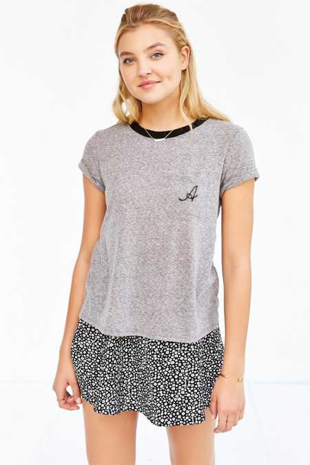 Truly Madly Deeply Initial Pocket Tee