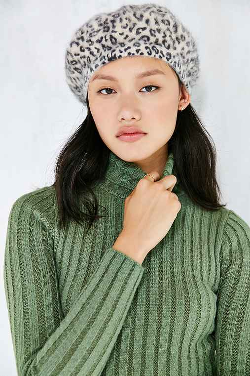 Silence + Noise Cassie Turtleneck Sweater,GREEN,S